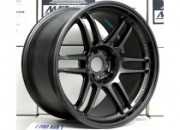 AME TRACER TM-02 18x10.5 +15 5-114.3 Gunblack *NEW SIZE*