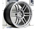 AME TRACER TM-02 18x9.5 +15 | 18x10.5 +15 5-114.3 Hyper Silver *NEW SIZE*