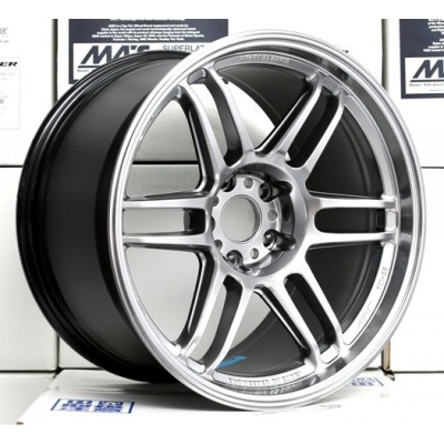 AME TRACER TM-02 18x9.5 +15 5-114.3 Hyper Silver *NEW SIZE*