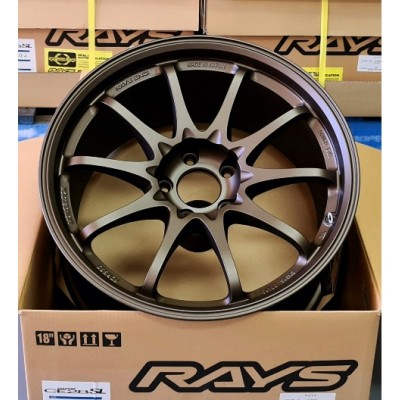 RAYS CE28SL 18 x 9.5 +42 5-120 BRONZE *Limited Edition*