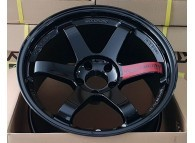 RAYS TE37SL FULL GLOSS BLACK 18 x 9.5 +22
