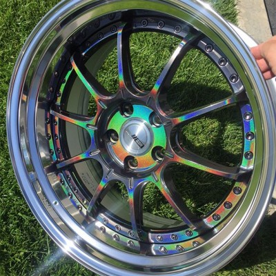 SSR Professor SP5 18x9.5 +25 5-114.3 SPECTRUM SILVER