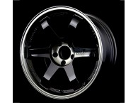 RAYS VOLK RACING TE37SL PRESSED DOUBLE BLACK