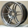 AME TRACER TM-02 18x10 +15 5-114.3 Hyper Silver